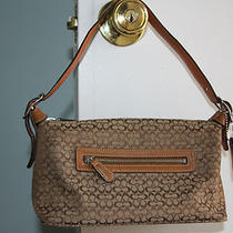 Small Coach Handbag/hobo Style Number 6332. Photo