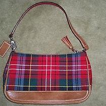 Small Coach Holiday Plaid Bag Photo
