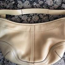 Small Coach Leather Hobo Bag Photo
