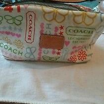Small Coach Purse/ Toiletry Bag Photo