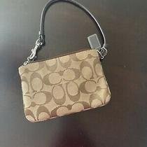 Small Coach Wristlet Photo