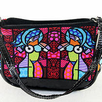 Small Donald J Pliner Bright Colorful Modern Women Purse Hand Bag Pocketbook Photo
