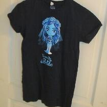 Small Girl's Tee Turtle Tim Burton Corpse Bride Emily T-Shirt Photo