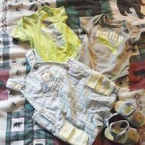 Small Lot of Baby Boy Clothing Puma the Other Outfit Is New With Shoes.. Photo