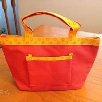 Small Orange & Yellow Avon Bag Photo