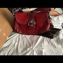 Small Red Coach Purse Photo
