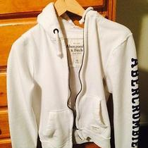 Small White Men's Hoodie Abercrombie & Fitch Photo