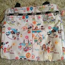 Small World Disney Limited Lesport Sac Every Girl Tote  Photo