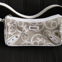 Small Xoxo Purse (White & Beige) Photo