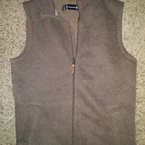 Smartwool Men's Hudson Full Zip Trail  Vest Jacket Bourbon Heather M Photo