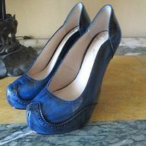 Smashin'worn1x Vivienne Westwood Anglomania Black-Washed Leather Pumps 37/6.5 Photo