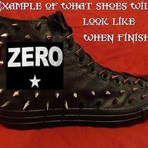 Smashing Pumpkins 90's Rock Custom Studded Converse Shirt Sneakers Shoes Spikes Photo