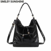 Smiley Sunshine Artificial Leather Handbags Big Hobo Messenger Crossbody Bags Photo