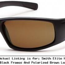 Smith Elite Hudson Tactical Sunglasses With Black Frames and  Hutppbr22bk Photo