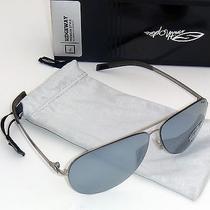 Smith Ridgeway Polarized Sunglasses-Matte Silver/super Platinum Mirrored Lens Photo
