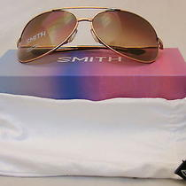 Smith Rockford Sunglasses Rfpcsngrgd - Rose Gold / Sienna Gradient Carbonic Photo