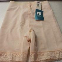 Smoothie Long Leg High Waist Girdle Blush Large 6828  Photo