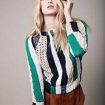 Smythe Awning Stripe Sweater 990 Size M Photo