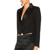 Smythe Black Tuxedo Mini Tails Blazer Size 4 Photo