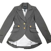 Smythe Les Vestes Equestrian Blazer Jacket Gray Size 6 Wool Rare 1280 Women's  Photo