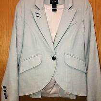 Smythe Mint Green Cutaway Blazer Tailored Jacket Exclusive to Tnt Size 6 Photo