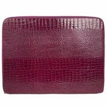 Smythson Clutch Bag Croc Leather Black Photo