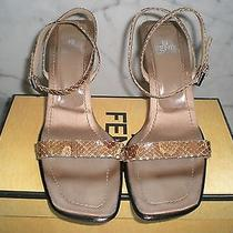 Snakeskin Fendi Sandals 7 Photo