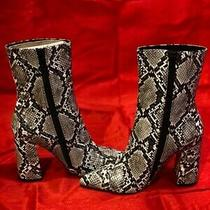 Snakeskin Jeffrey Campbell Size 5 Bootie Photo