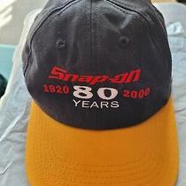 Snap on K Products Trucker Hat 80 Years Vintage Snapback Patches Photo