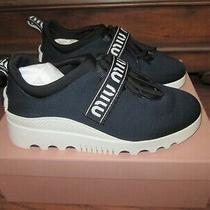 Sneakers Miu Miu Women - Blue Size 37 (Eu) 7 (Us) Photo