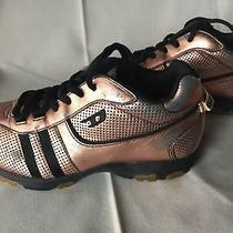 Sneakers  Womens Diesel Gold Metallic   Sz 7 Photo