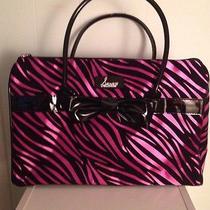 Snooki Purple Zebra Handbag  Photo