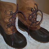 Snow Boots Sorel Sz 5 Made in Canada Photo