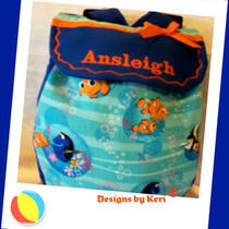So Cute Small Toddler Back Pack for Your Little Girl or Boy Disney Finding Nemo Photo
