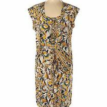 Soca by St. John Women Yellow Casual Dress L Photo