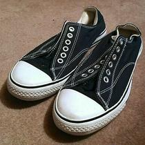 Soda Black and White Converse Chuck Taylor Style Sneakers Size 7 Photo