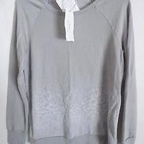 Soft Joie Annora Sweatshirt Dolphin Gray  Animal Ombre Size L New Photo