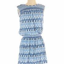 Soft Joie Women Blue Casual Dress S Photo