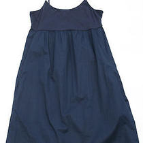 Soft Joie Womens L Kenai Navy Blue Spaghetti Strap Cotton Tank Sun Dress Nwt New Photo
