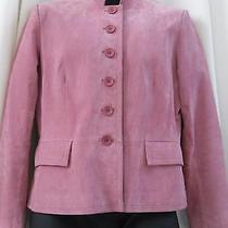 Soft Rose Suede Jacket Photo
