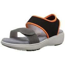 Soft Walk 6456 Womens Elements Gray Sport Sandals Shoes 10 Narrow (Aan) Bhfo Photo
