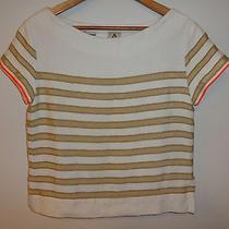 Sold Out J Crew Lemlem Teddy Smock Shirt Top Stripes Small Photo
