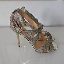 Sold Out Jimmy Choo Lottie Light Bronze Formal Wedding Shoes Sz 37/7 Photo