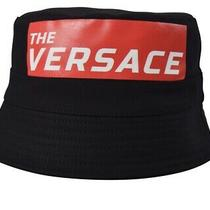 Sold Out the Versace Bucket Hat One Size/medium Black/red/white Bnnt 365 Photo