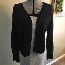 Solid Black Long Sleeve Express Cardigan Sz Xl Extra Large Photo