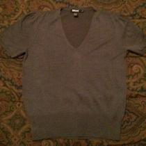 Solid Grey Dkny Blouse Photo