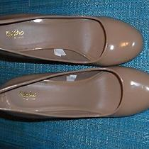 Solid  Nude/beige Mossimo Heels Size 7 Photo