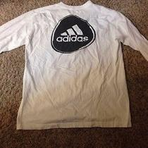 Solid White Adidas Training Shirt Photo