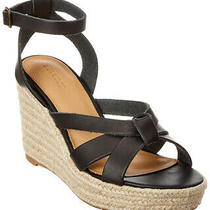 Soludos Charlotte Leather Wedge Sandal Women's Photo