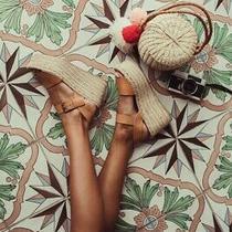 Soludos Minorca High Platform Sandal - Women's Size 6 Nude Photo